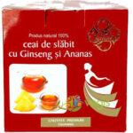 Noul ceai de slabit cu Ananas si Ginseng