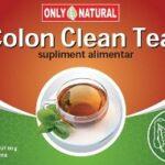 Un ceai special pentru curatarea colonului: colon clean tea