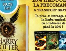 Harry Potter – The cursed child – 25% reducere cu precomandă